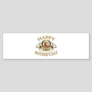 Happy Mother's Day Cocker Spaniel Sticker (Bumper)