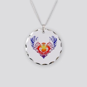 Pekingese Necklace Circle Charm