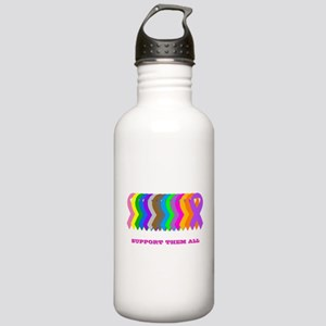 Support them all Stainless Water Bottle 1.0L