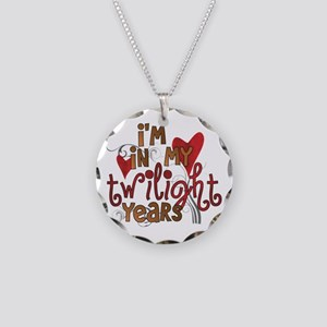 Funny Twilight Years Necklace Circle Charm