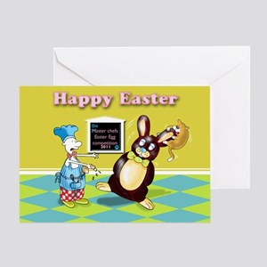 Funny Easter chef Greeting Card