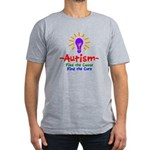 Autism Awareness Men's Fitted T-Shirt (dark)
