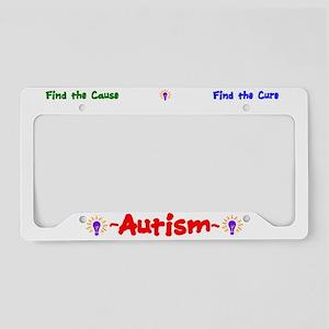 Autism Awareness License Plate Holder
