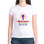 Autism Awareness Jr. Ringer T-Shirt