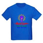 Autism Awareness Kids Dark T-Shirt