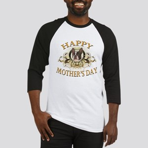 Happy Mother's Day Boston Terrier Baseball Jersey