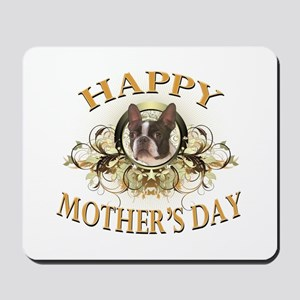 Happy Mother's Day Boston Terrier Mousepad