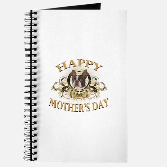Happy Mother's Day Boston Terrier Journal
