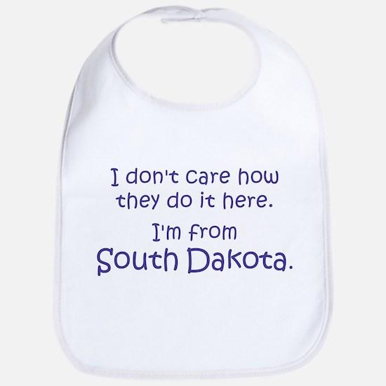 From South Dakota Bib