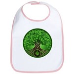 Circle Celtic Tree of Life Bib