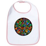 Celtic Stained Glass Spiral Bib