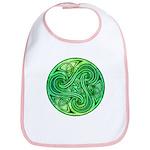 Celtic Triskele Bib