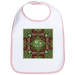 Celtic Dragon Labyrinth Bib