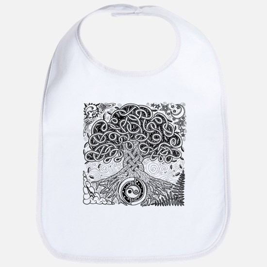 Celtic Tree of Life Ink Bib