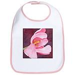 Pink Tulip Bib