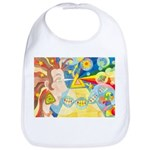 Creation Myth Watercolor Bib