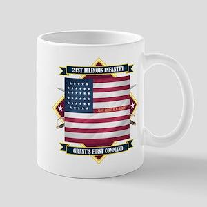 21st Illinois Infantry Mug