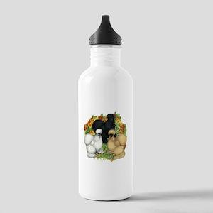 Flower Garden Silkies Stainless Water Bottle 1.0L
