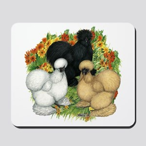Flower Garden Silkies Mousepad