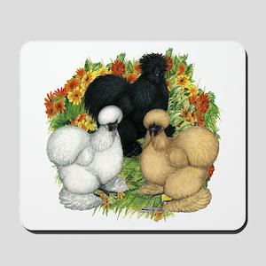 Flower Garden Silkies Mousepad