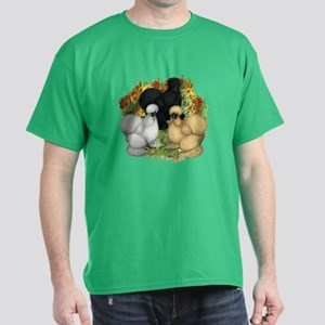 Flower Garden Silkies Dark T-Shirt