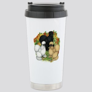 Flower Garden Silkies Stainless Steel Travel Mug