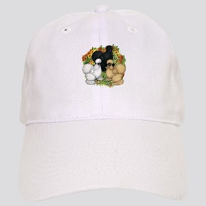 Flower Garden Silkies Cap