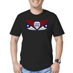 Paper Airplane Flight School Men's Fitted T-Shirt