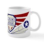 Paper Airplane Flight School Coffee Mug