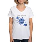 Chunky Dunk Women's V-Neck T-Shirt