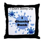 Chunky Dunk Throw Pillow