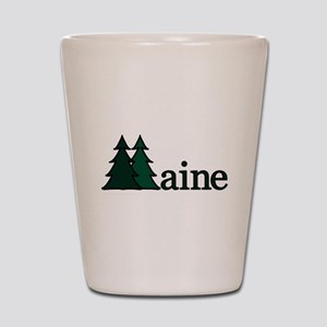 Maine Pine Tree Shot Glass