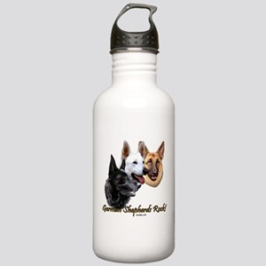 German Shepherds Rock Stainless Water Bottle 1.0L
