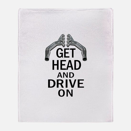 Get Head Throw Blanket