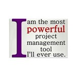 Project Management Tool Rectangle Magnet
