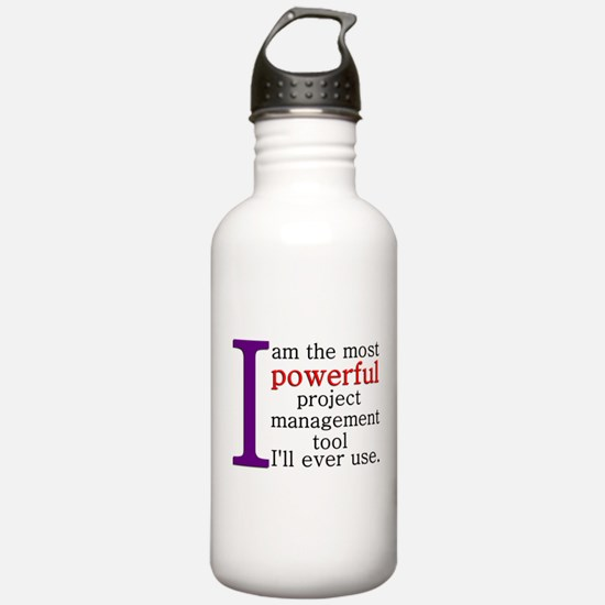 Project Management Tool Water Bottle