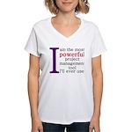 Project Management Tool Women's V-Neck T-Shirt