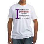 Project Management Tool Fitted T-Shirt