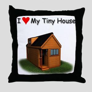Tiny House Throw Pillow