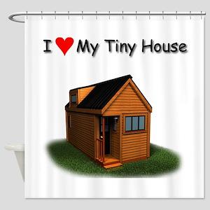 Tiny House Shower Curtain