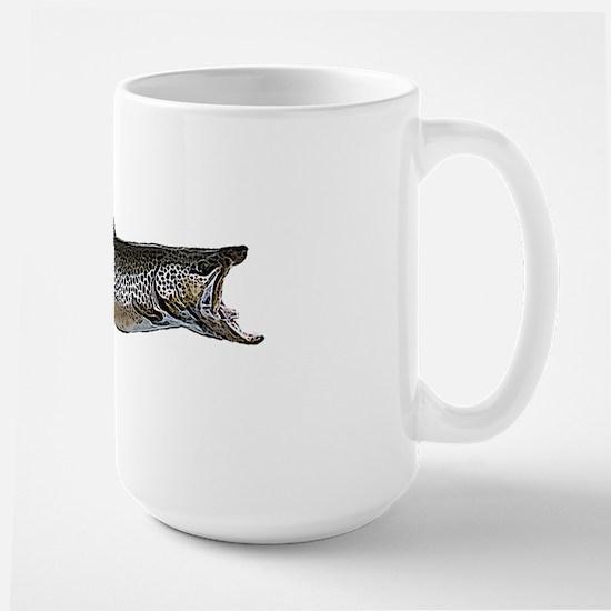 Brown trout Large Mug