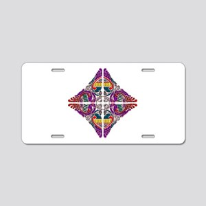 phoenix abstract design Aluminum License Plate