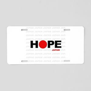 Hope Japan Aluminum License Plate