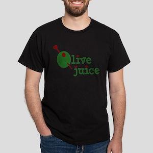Olive Juice (I Love You) Black T-Shirt