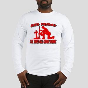 red friday prayer Long Sleeve T-Shirt