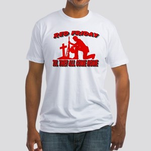 red friday prayer Fitted T-Shirt