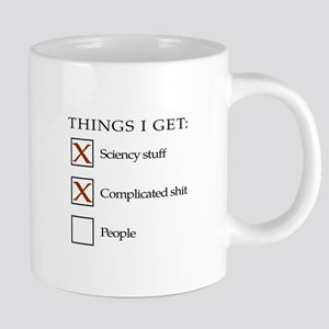 Things I get - people are n 20 oz Ceramic Mega Mug