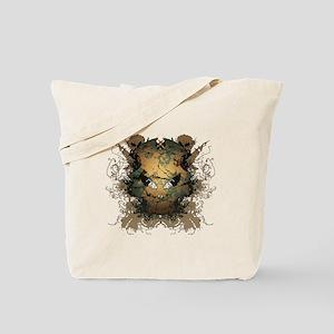Skull Greed Tote Bag