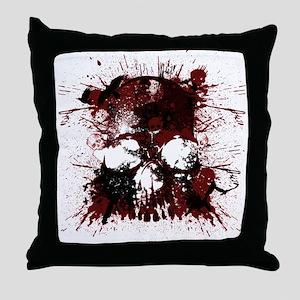 Skullmania Throw Pillow