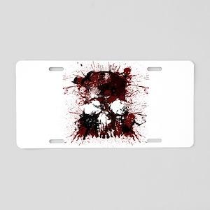 Skullmania Aluminum License Plate